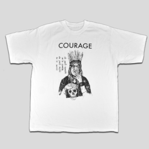 T-Shirt Courage Fronte - HL Café